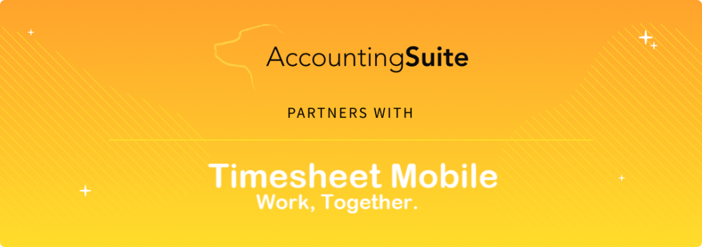 AccountingSuite Announces Integration with Timesheet Mobile