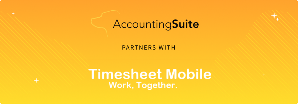 AccountingSuite™ Announces Integration with Timesheet Mobile